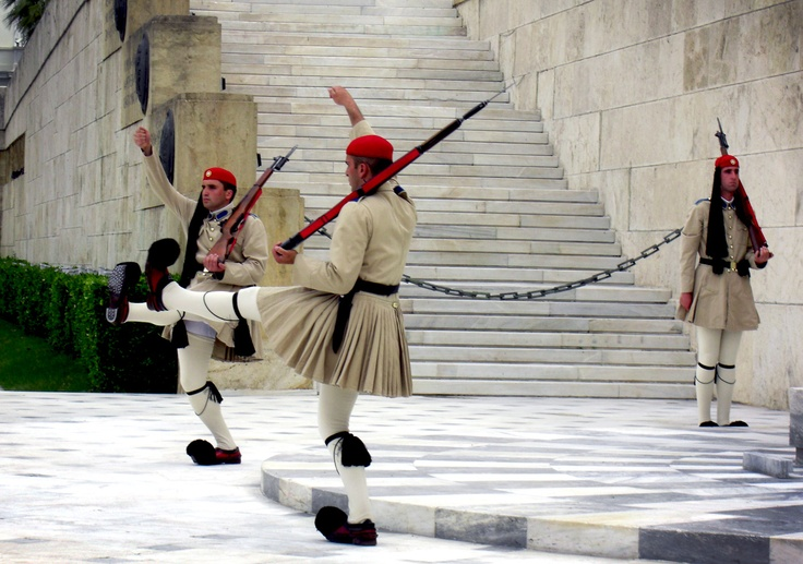 Changing of the Guard, Athens.