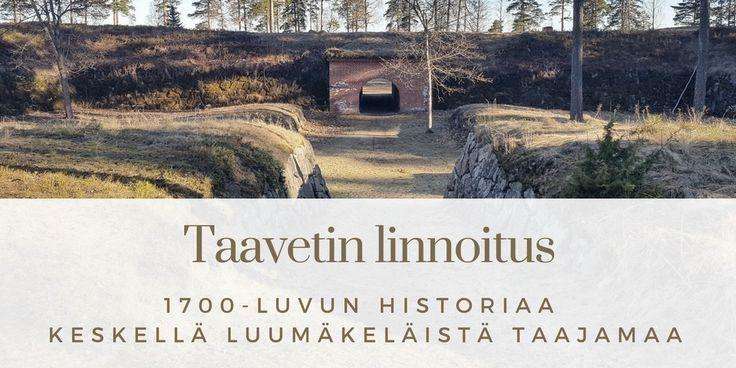 Keskellä Luumäen Taavettia on 1700-luvulta peräisin oleva linnoitus. Kiva pysähdyspaikka vaikka ohiajomatkalla! Taavetti, Luumäki, Suomi. Matkablogi Suunnaton.