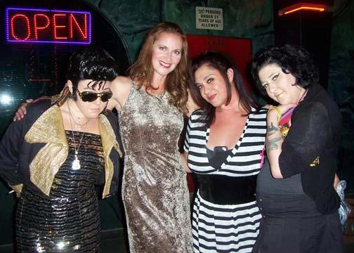 Naughty Angels, Elvis Tribute Show, Audie's Olympic Tavern