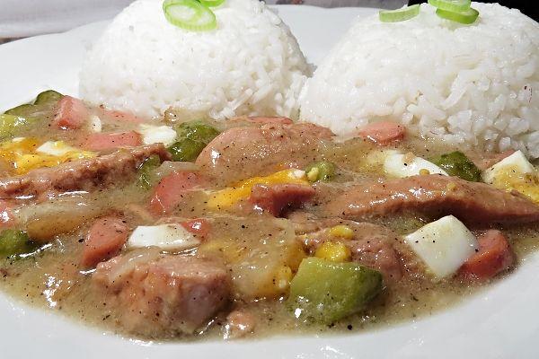 Oblíbený španělský ptáček trochu jinak. Lze použít jak vepřové tak hovězí maso, toto je recept s masem vepřovým.