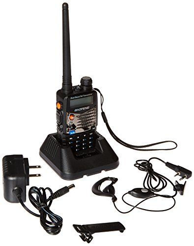 The BaoFeng UV-5RA is a compact hand held transceiver providing 4 watts in the frequency range of 136-174 MHz and 400-480 MHz. It is a compact economical HT that includes a special VHF receive band f...