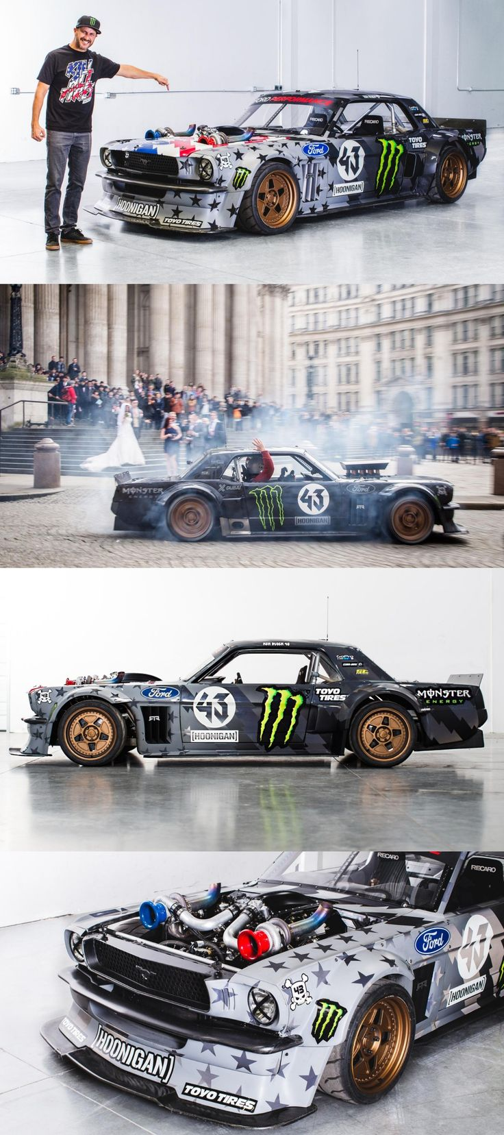 1420 PS Ken Block Tuned Ford Mustang; Ready to Tremble the Track