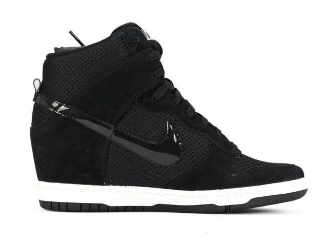 100% authentic c7267 22780 ... dames zwart nike dunk sky high essential sneakers wedges high heels  schoenen nederland betrouwbaar 6