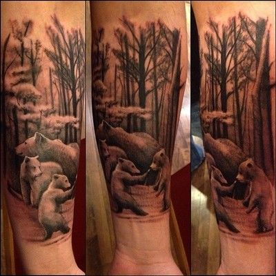 bear family | Tattoo Ideas - For Dave | Pinterest | Bears ...