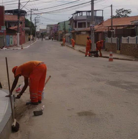 SÃO PEDRO DA ALDEIA – Prefeitura de São Pedro da Aldeia realiza serviços de manutenção nos bairros aldeenses | Jornal Noticias de São Pedro da Aldeia