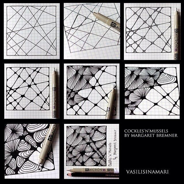 """Über ideen zu """"zentangle patterns auf pinterest"""