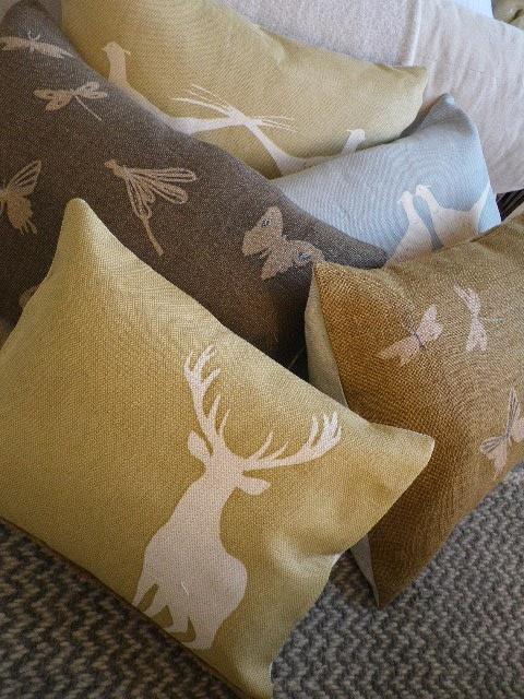 animals + pillows
