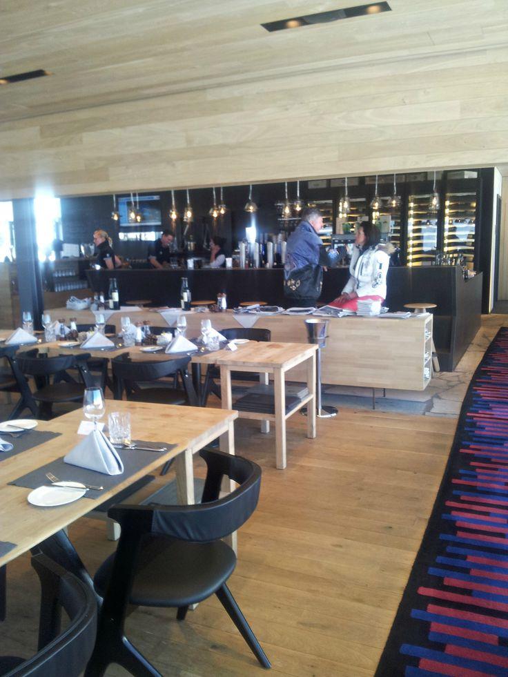 Ice Q Restaurant in den Bergen