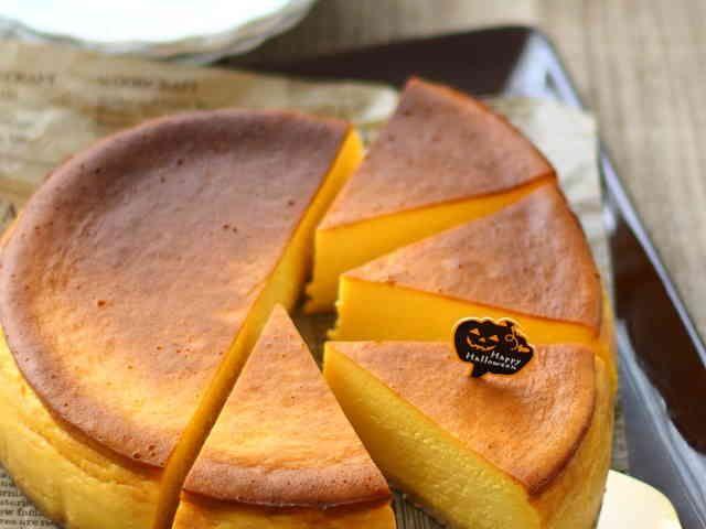 パンプキン♡チーズケーキの画像