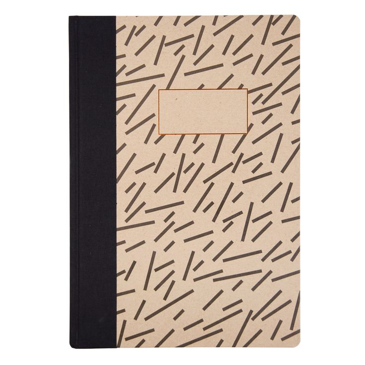 Dash A4 Quarterbound Notebook - £11.95 Copper Edges and plain / lined alternating pages.