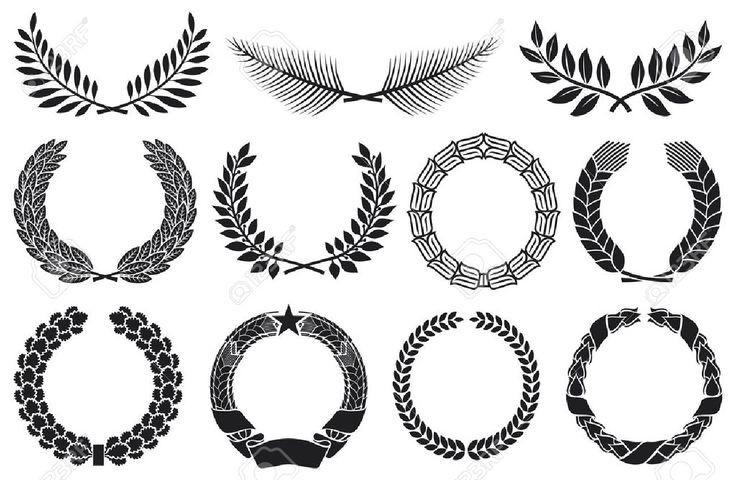 17 Mejores Ideas Sobre Dibujo Con Lineas En Pinterest: 17 Mejores Ideas Sobre Corona De Laurel En Pinterest