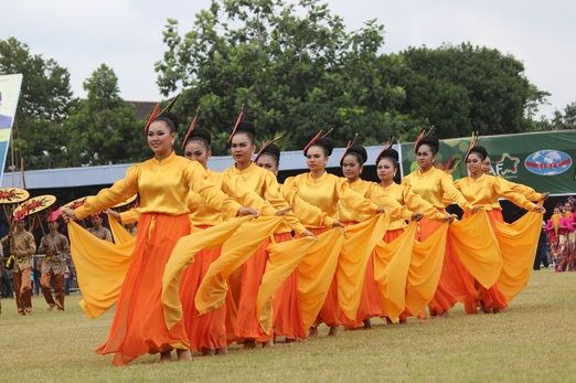 "Colorful: The seven-day festival was closed on June 22 with a ceremony called ""Mengulur Naga"" (Unfurling the Dragon)..."