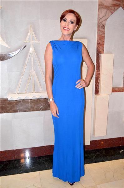 Chantal Andere en la 24 Entrega de los Premios Bravo, por parte de la Asociación Rafael Banquells, en el Teatro Libanés, en México, el 20 de octubre de 2015.¿Nos sigues en Facebook?