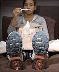 Is it OK to exercise if I have a cold? « Heather Whaley, Personal Trainer