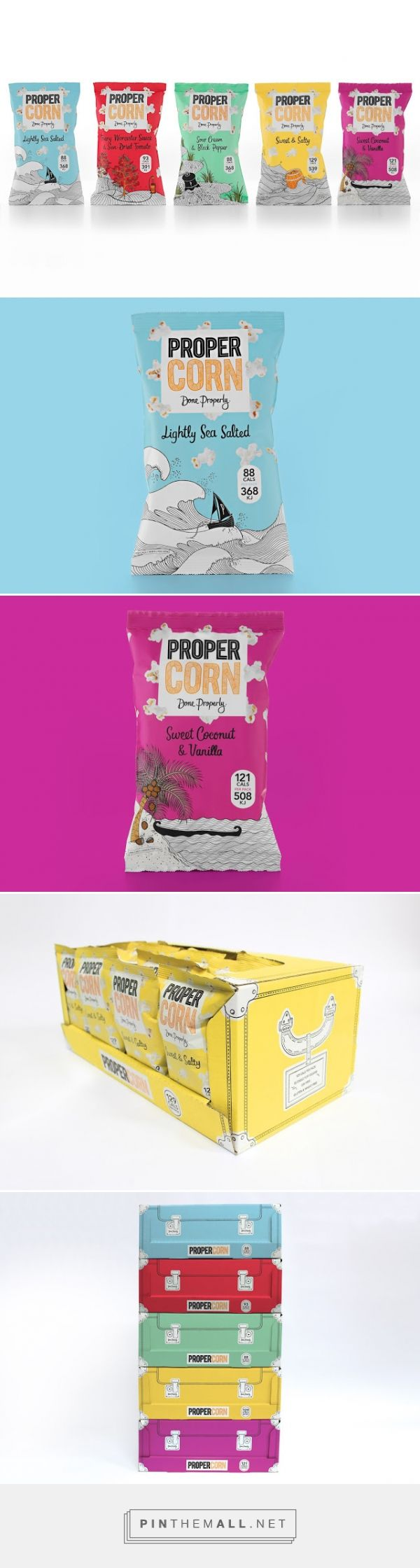 PROPERCORN Brand Evolution