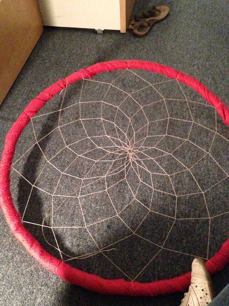DIY Hula Hoop Dream Catcher