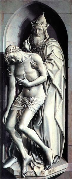 1410 Trinity of the Broken Body - Robert Campin