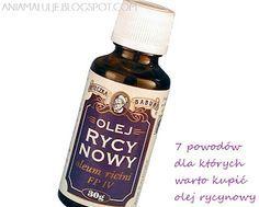 7 powodów dla których warto kupić olej rycynowy - cz.1 | #Ania maluje