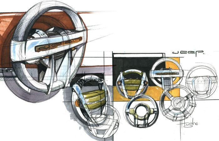 Jeep by Aaron Hughes at Coroflot.com