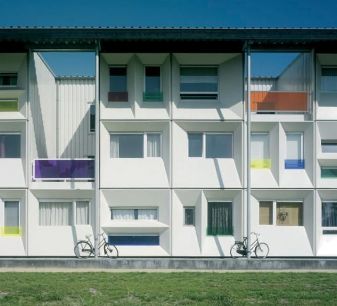 Qubic social housing student housing multi unit prefab for Low cost apartments amsterdam
