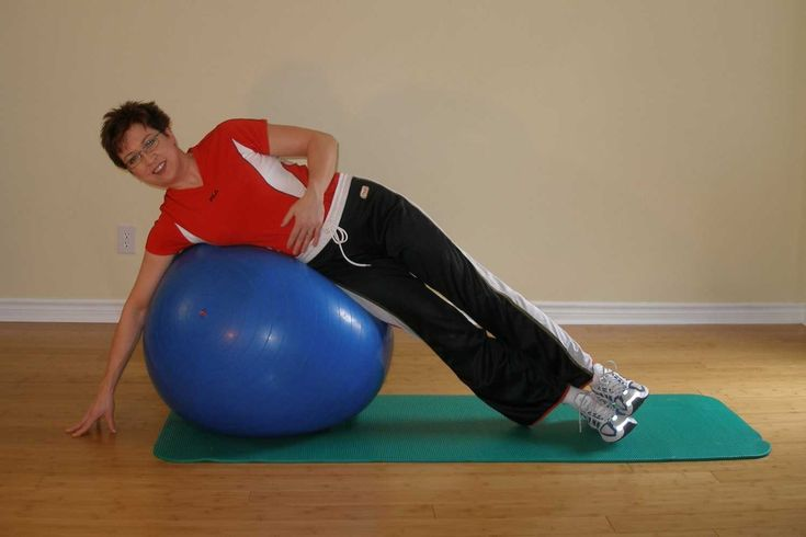 How to exercise with a therapy ball--exercise-ball-exercises.com