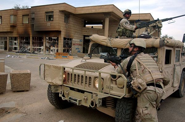 Special Forces HMMWV