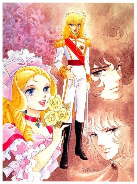 """姫野美智 by Michi Himeno  Getting my old school on and watching """"The Rose of Versailles""""...Original manga by Riyoko Ikeda"""