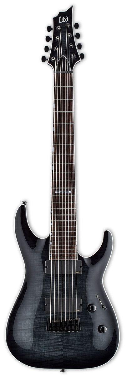 LTD H-408B FM Baritone 8-String Electric Guitar