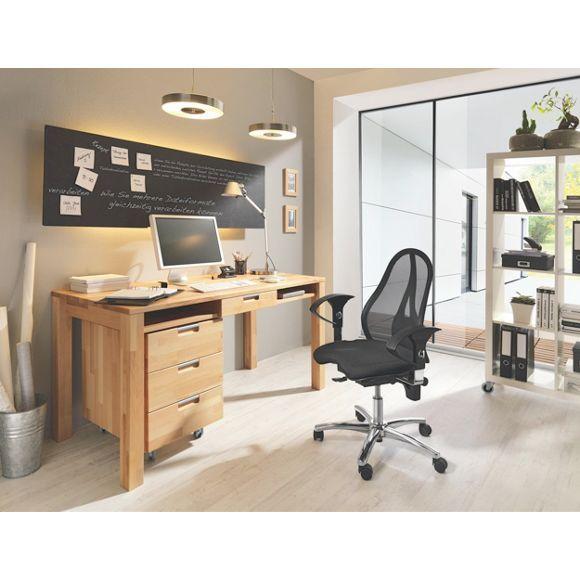 137 besten arbeitszimmer bilder auf pinterest for Buchenholz schreibtisch