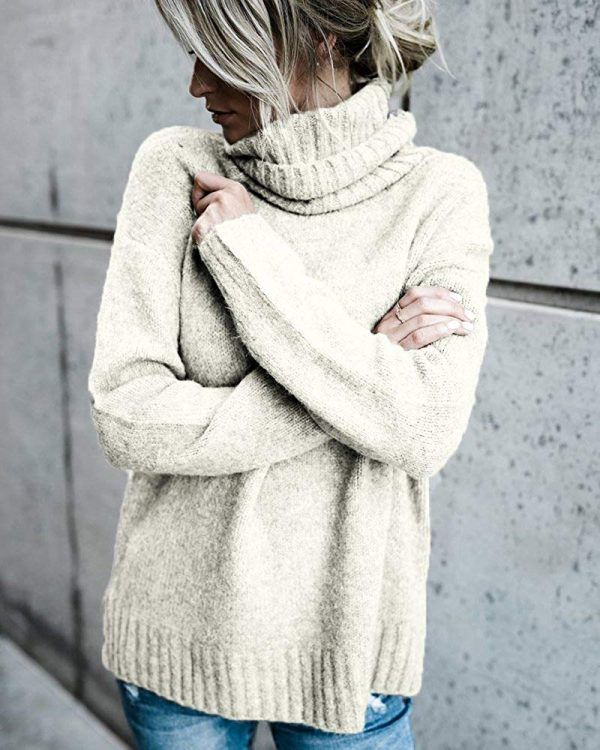 6ae5956c50f5 Oversized Sweater Outfits  25 Gorgeous Outfit Ideas