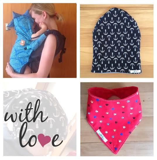 With Love With Love is handcrafted goods for mums and bubs. We specialise in babywearing accessories but also make pretty much anything!   www.facebook.com/withlovenz