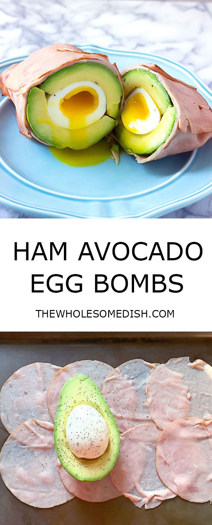 Low-Carb Ham And Egg Cups