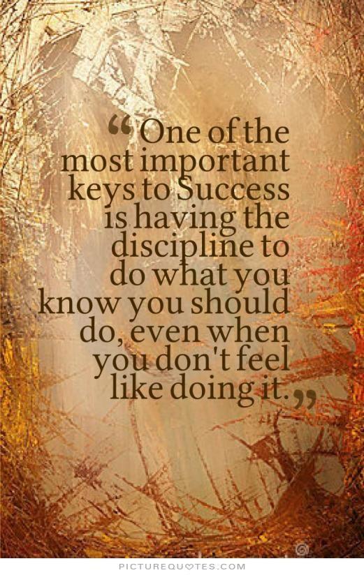 discipline is the key to success essay Discipline is the key to success essay writing, chat rooms for homework help, homework help canada reviews.