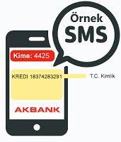 Akbank Smsle Kredi