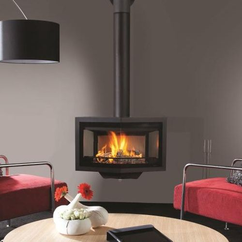 1000 Images About Wall Mounted Stoves On Pinterest