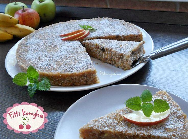 Paleo almás pite - Szilvi ÍzVilág