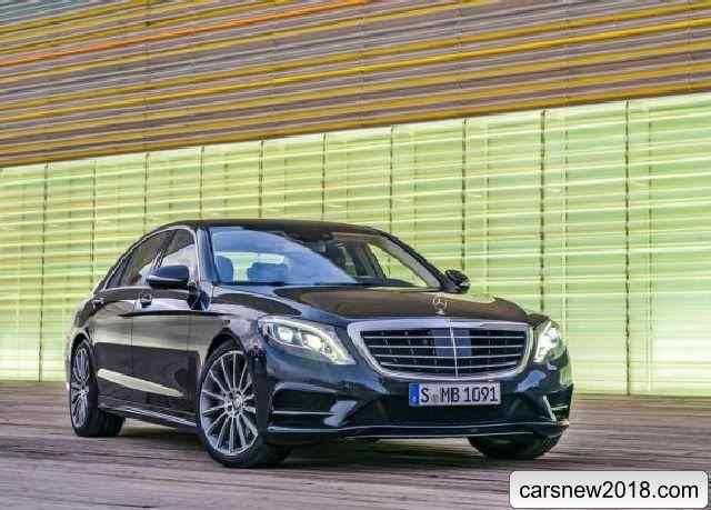Presented by 2018-2019 Mercedes S-Class new generation