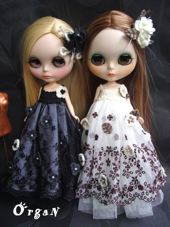 RESERVED for Lisa  OOAKMidnighT LuxE RuffleD RomancE   by organ111, $36.00