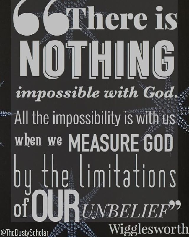 There Is Nothing Impossible With God All The Impossibility Is With Best Smith Wigglesworth Quotes