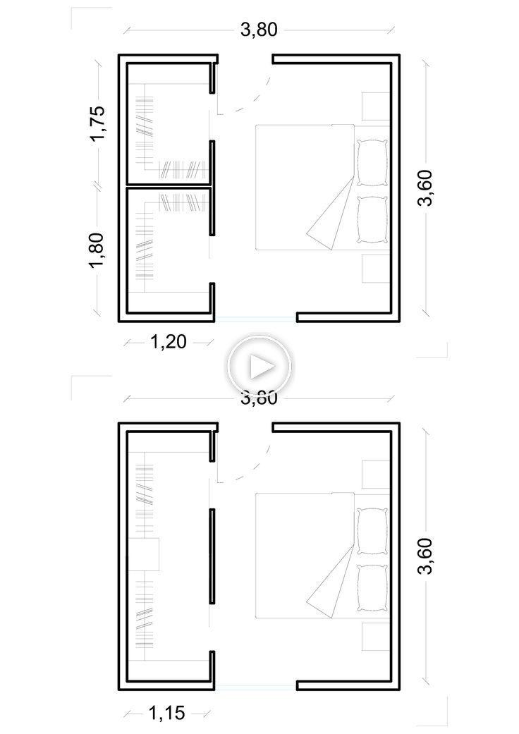 Misure Minime Per Cabina Armadio.La Cabina Armadio Dimensioni Minime Ed Esempi Home Room Design