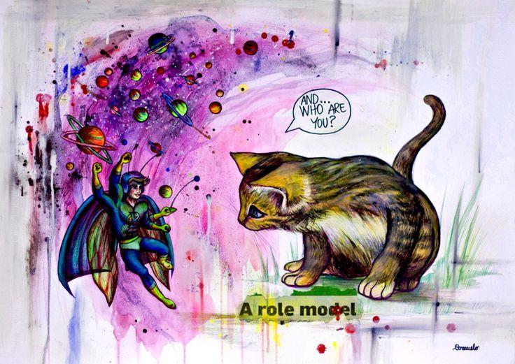MIKI AND THE SUPERBEETLE Micro-Macro-Me Series 2013