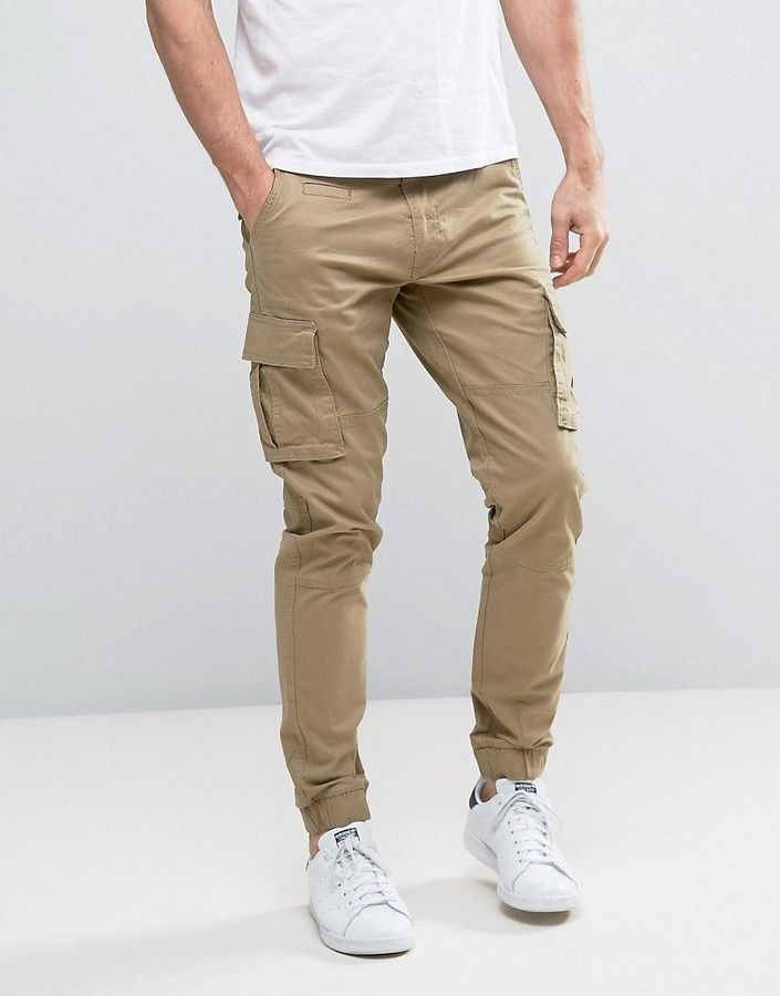 Only & Sons Cuffed Cargo Pants