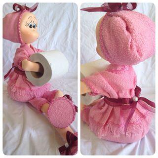 boneca eva porta papel - Pesquisa Google