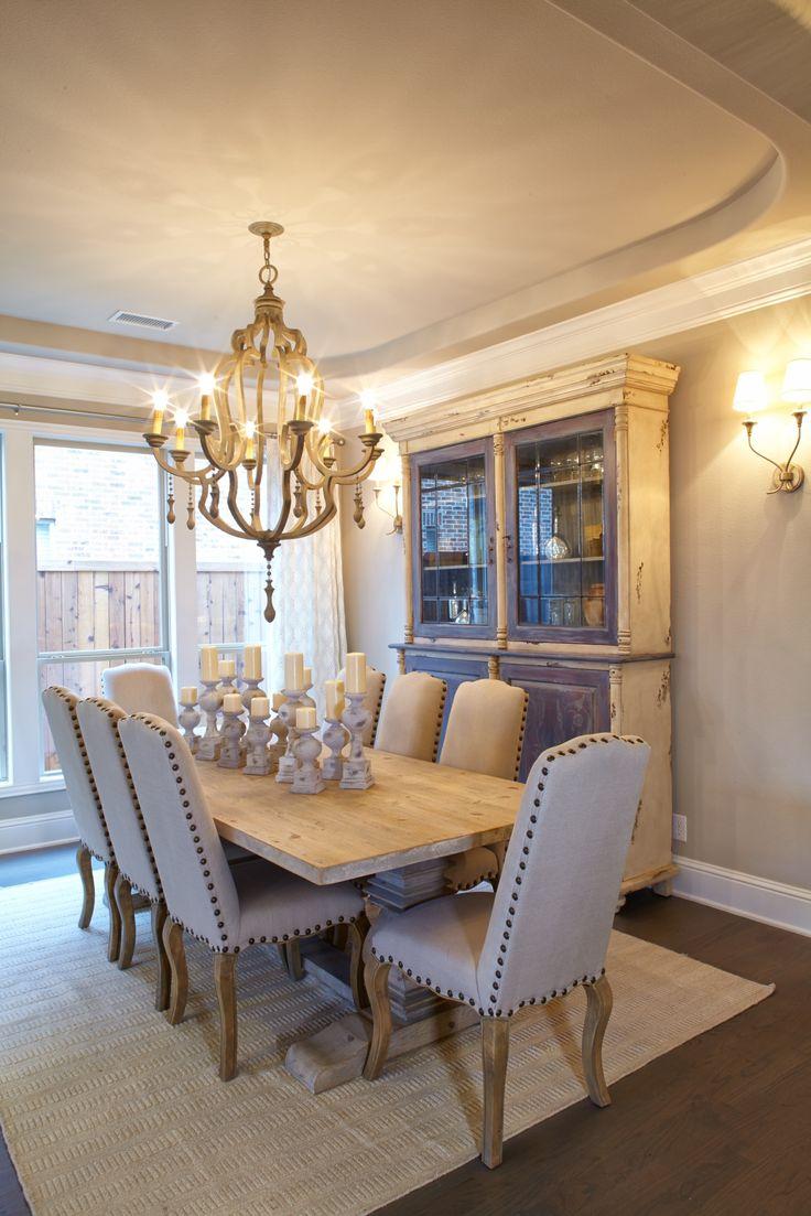 Dining Room At Villages Of Stonelake Estates Model In Frisco TX ShaddockHomesTX FormalDining