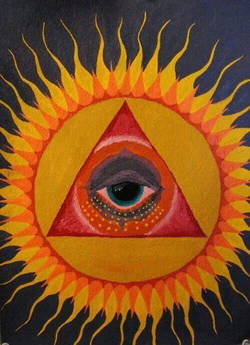треугольник на солнце картинки заработал шрам