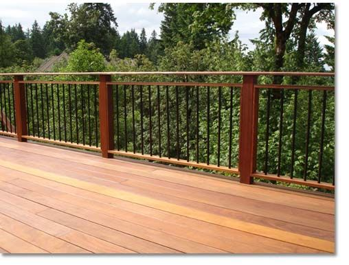 Best 25+ Metal deck railing ideas on Pinterest