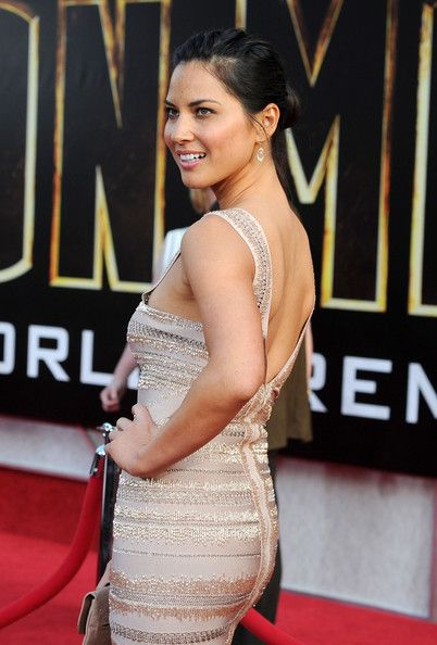 "Olivia Munn Photos Photos - Actress Olivia Munn arrives at the world premiere of Paramount Pictures & Marvel Entertainment's ""Iron Man 2"" held at the El Capitan Theatre on April 26, 2010 in Hollywood, California. - Premiere Of Paramount Pictures & Marvel Entertainment's ""Iron Man 2"""