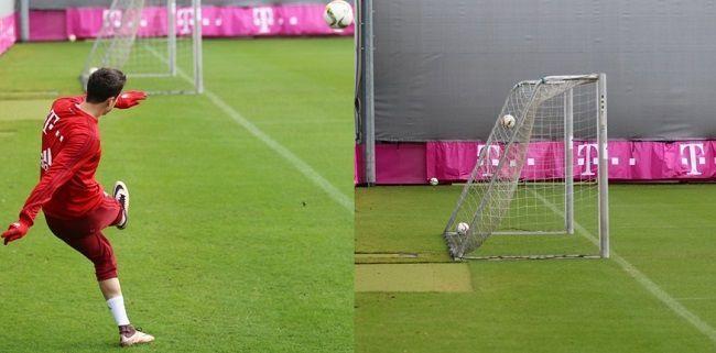 Świetny trik piłkarski Polskiego napastnika • Krótki pokaz umiejętności Lewego • Robert Lewandowski poprawił wyczyn Xabiego Alonso >> #lewandowski #bayern #bayernmunich #soccer #football #pilkanozna #sports
