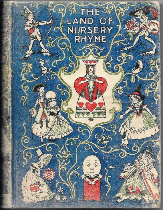 Land of Nursery Rhyme 1942 Reprint Alice by RetroMarketplace