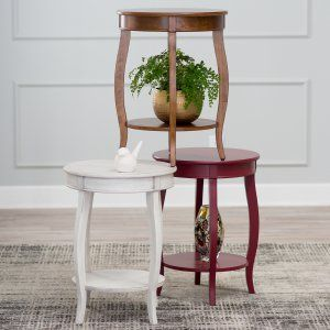 Round End Tables on Hayneedle - Pedestal End Table